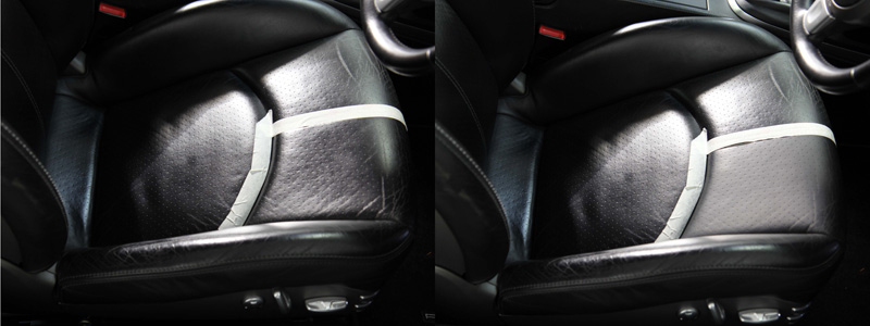Porsche 911 997 Carrera S Leather Repair Treatment