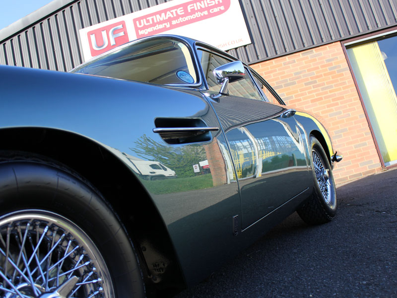 1963 ASTON MARTIN DB5 - Full Paintwork Correction Part 2