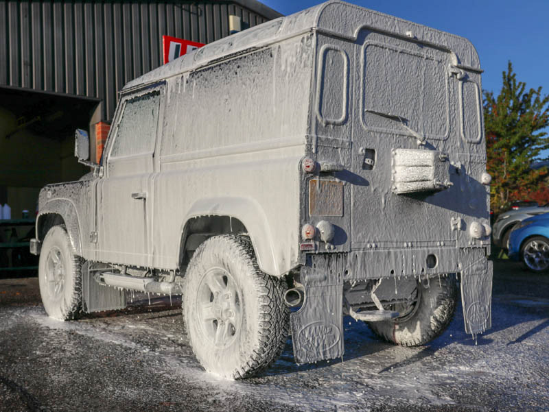 Land Rover Defender 90 - Gloss Enhancement Treatment