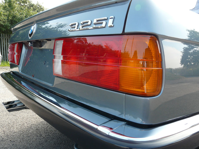 Full Paintwork Correction Treatment for BMW E30 325i in Cirrusblau Metallic at Ultimate Detailing Studio