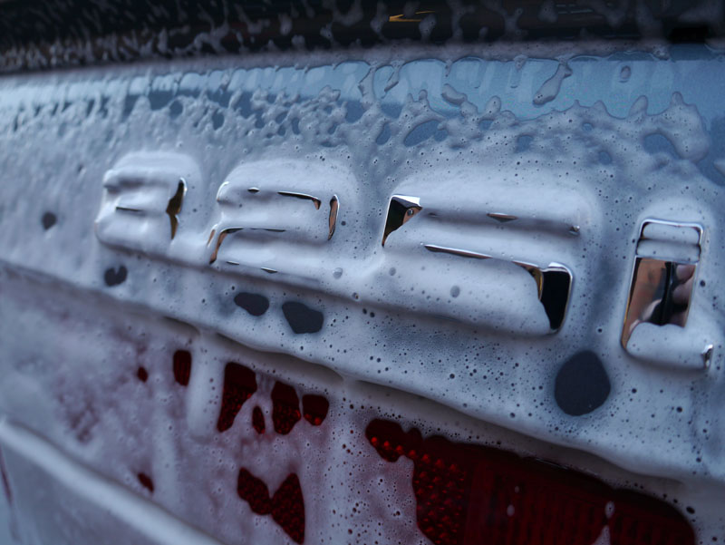 Ultimate Snow Foam pre-wash non-contact cleaning prior to detailing at Ultimate Detailing Studio