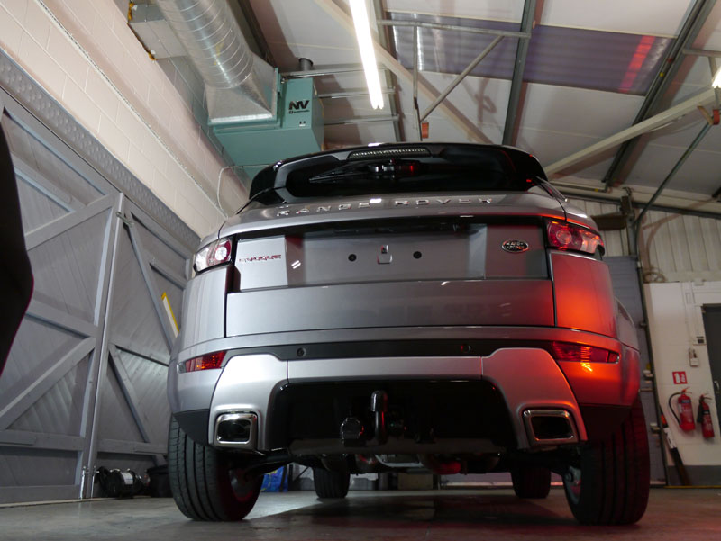 Range Rover Evoque - New Car Protection Treatment
