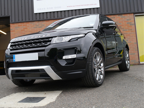 Range Rover Evoque Si4 fully Gloss Enhanced at Ultimate Detailing Studio