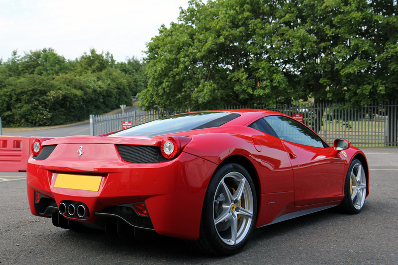 Ferrari 458 Gloss Enhancement Treatment