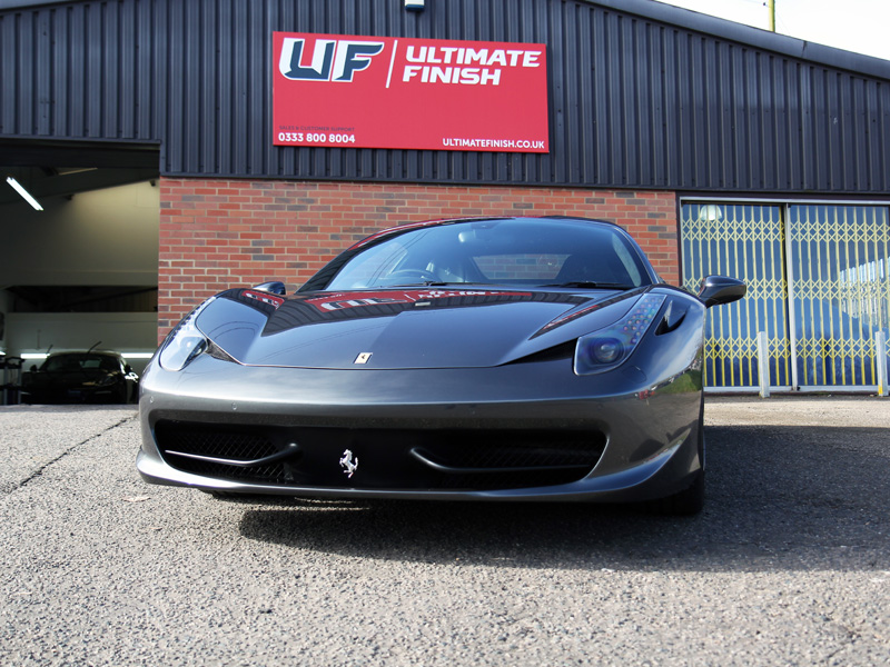 Ferrari 458 Italia - Pre-Sale Protection Treatment