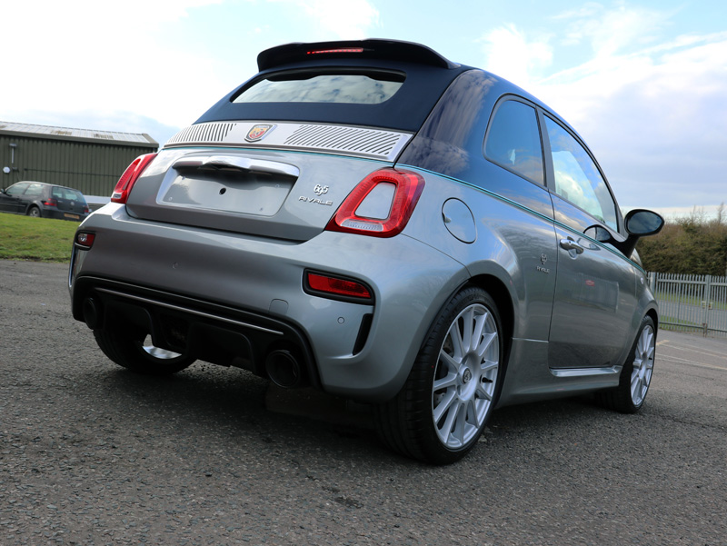 2018 Abarth 695 Rivale Convertible - New Car Protection