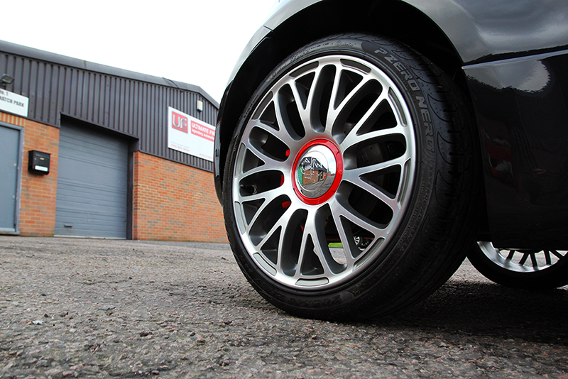 Fiat 595 Abarth Turismo - Gloss Enhancement Treatment