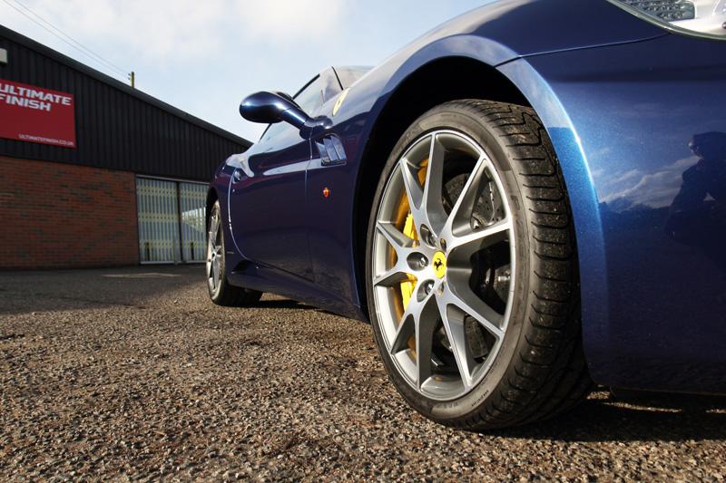 Ferrari California - Sale Preparation