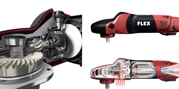 FLEX PE14-2 150 Rotary Machine Polisher Inner Workings
