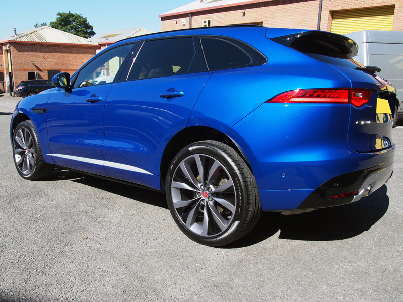 Jaguar F-Pace - New Car Protection Treatment