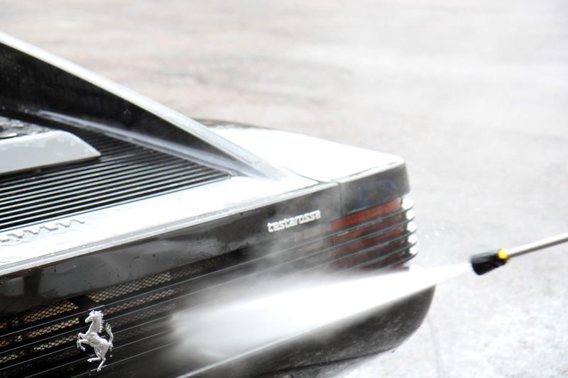 Ferrari Testarossa - Paint Correction Treatment