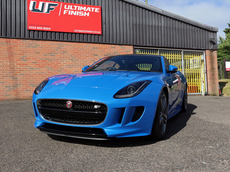 Jaguar F-Type British Design Edition - Gloss Enhancement Treatment