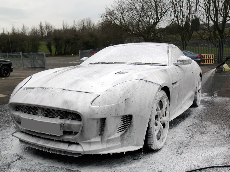Jaguar F-Type R - New Car Protection Treatment