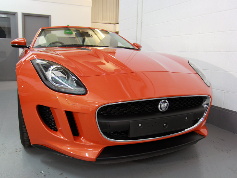 Jaguar F-Type Full Paint Correction