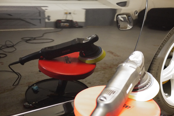 22PLE VX1 Pro Signature Glass Coat on Ferrari 575M Maranello - Glass treatments available at the Ultimate Detailing Studio