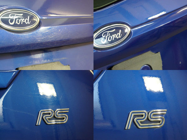 Gloss Enhancement Treatment for Ford Focus RS in Imperial Blue