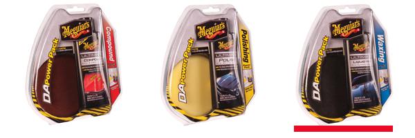 Meguiar's Polishing DA Power Pack