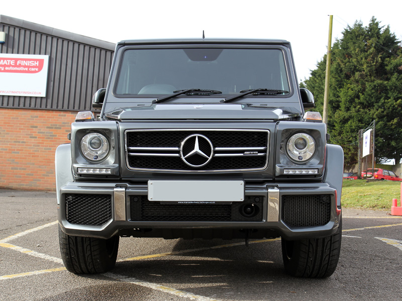 Mercedes-AMG G63 - Gloss Enhancement Treatment