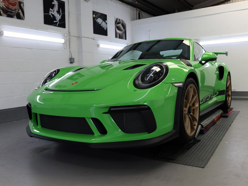 Porsche 911 991 GT3 RS Gen 2 - New Car Protection Treatment
