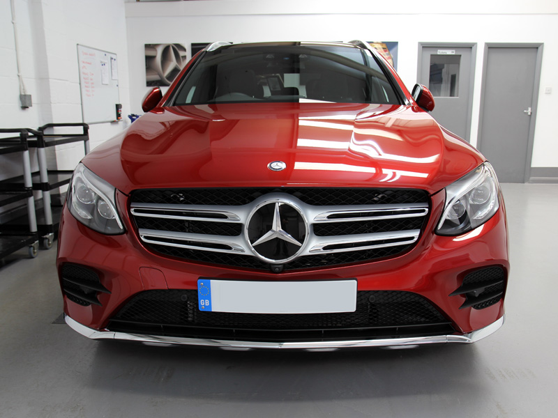 Mercedes GLC 250d 4matic AMG Line - New Car Protection Treatment