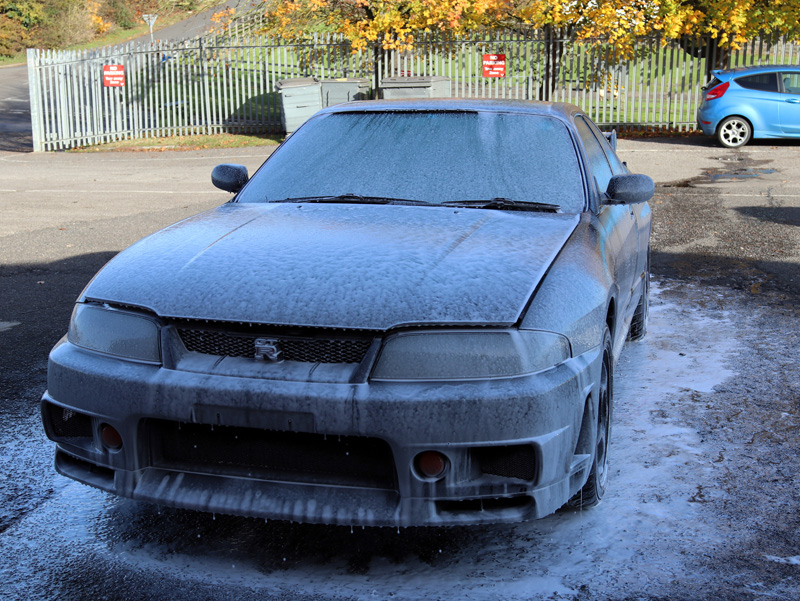 1995 Nissan Skyline GTR R33 V-Spec - Paintwork Correction Treatment