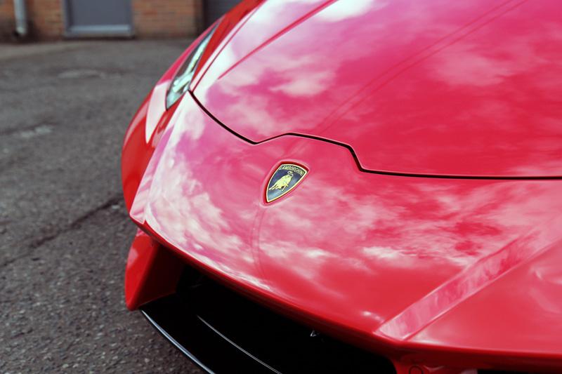 Lamborghini Huracan RWD Coupe - New Car Protection Treatment