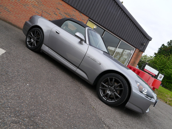 Honda S2000 - Gloss Enhancement Treatment