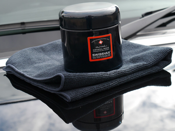 Swissvax Crystal Rock luxury carnauba wax
