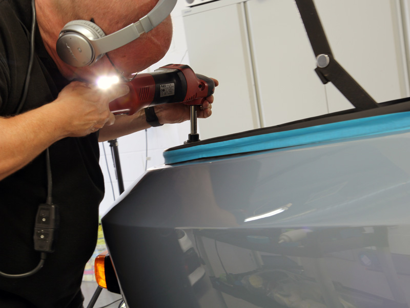 Jensen Interceptor Mk 1 - Paint Correction & Show Car Preparation