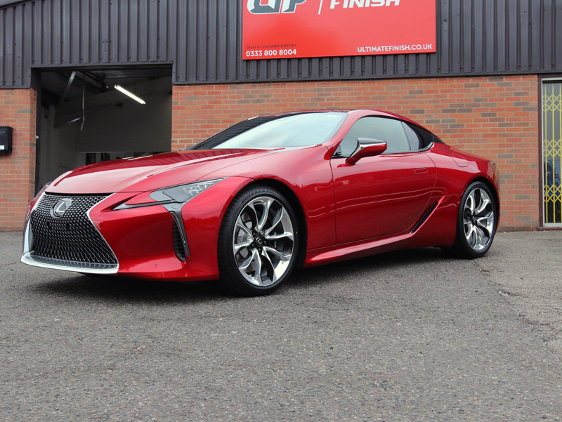 2017 Lexus LC 500 V8 Sport+ - New Car Protection Treatment