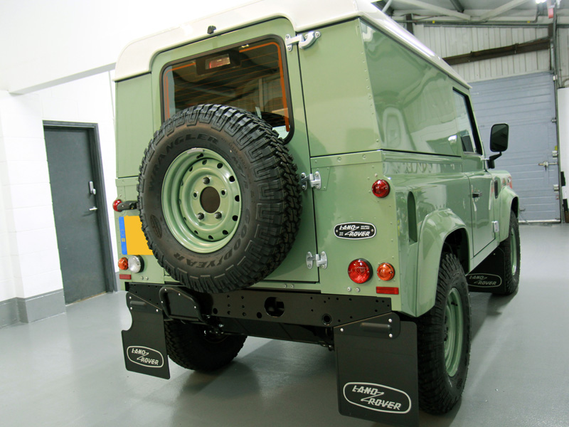 Land Rover Defender Heritage New Car Protection