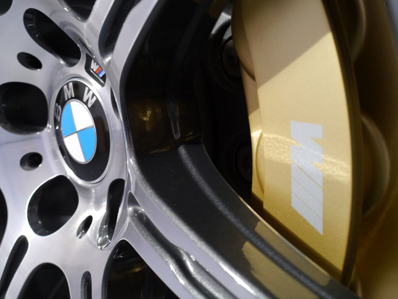 Alloy wheels protected with Nanolex PROFESSIONAL Paint & Alloy Sealant