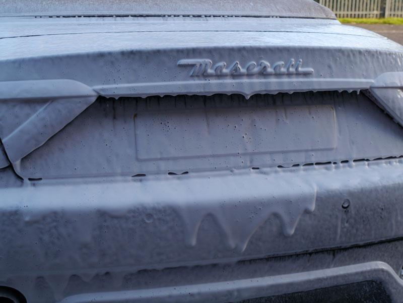 Maserati GranCabrio - Ultimate Snow Foam