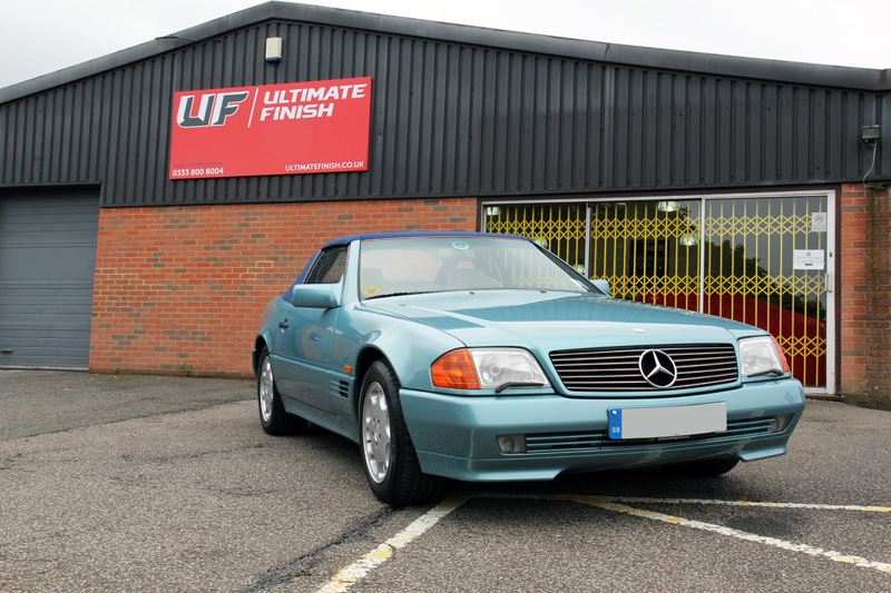 Mercedes-Benz SL320 - Gloss Enhancement Treatment