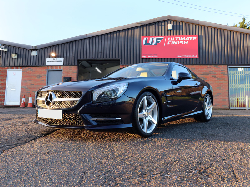2013 Mercedes-Benz SL 500 - 2-Stage Gloss Enhancement Treatment