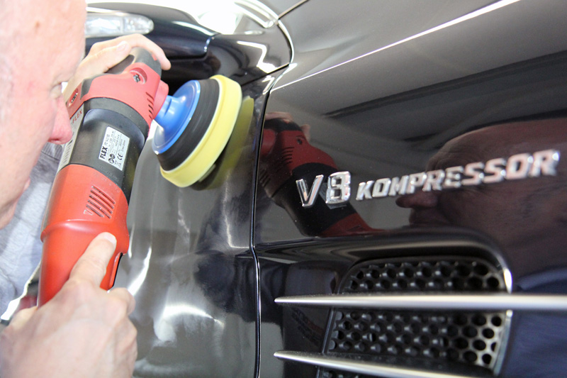 Mercedes-Benz SL55 AMG Paintwork Correction