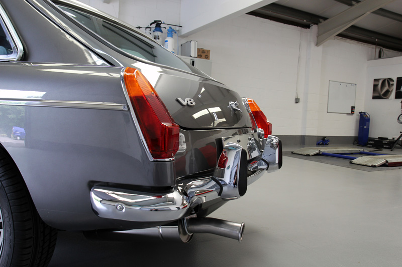 MGB GT V8 - Gloss Enhancement Treatment
