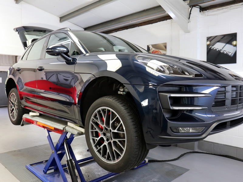 2017 Porsche Macan Turbo - New Car Protection Treatment