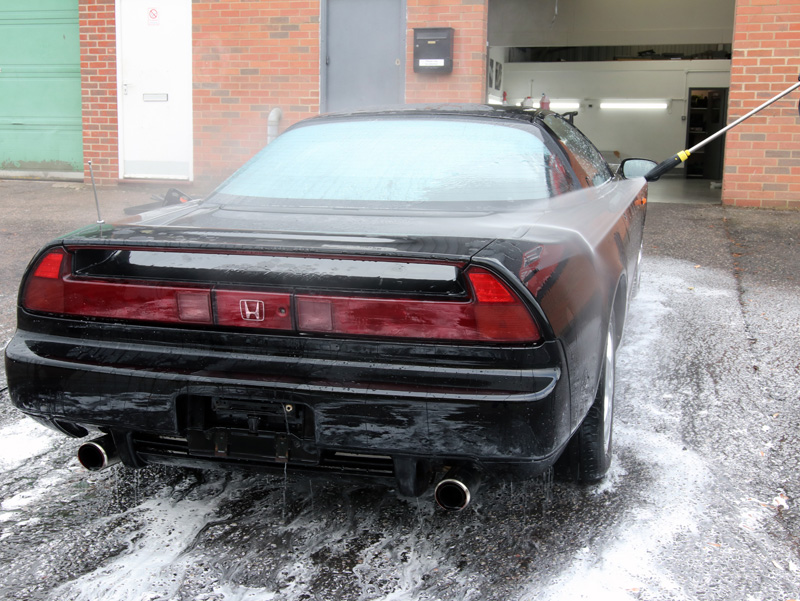 1991 Honda NSX - Paint Correction Treatment - Gloss Enhancement Treatment