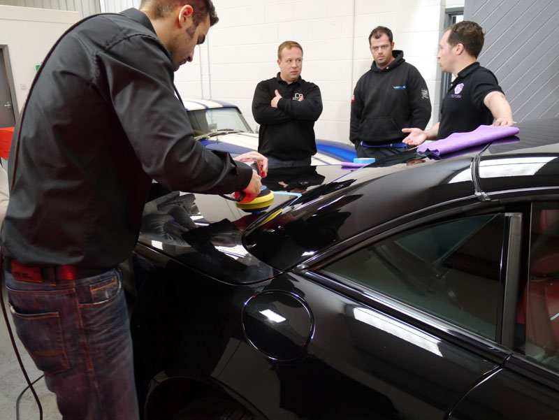 Ultimate Finish Host The First UK Nanolex Detailer Training Day