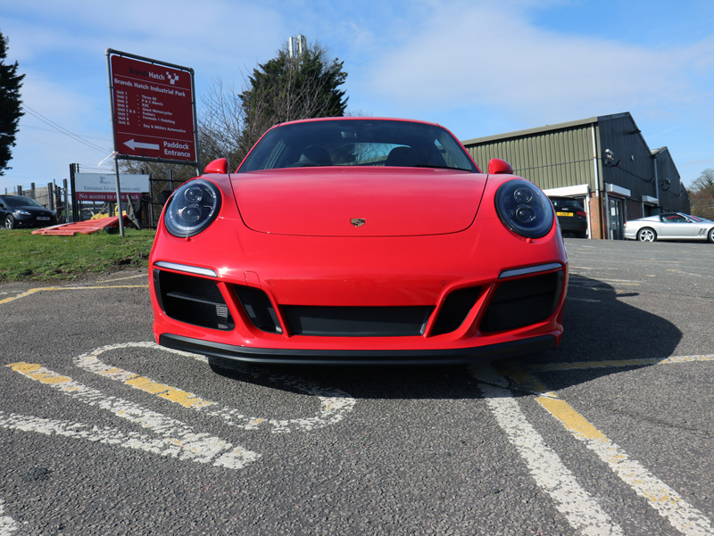 2018 Porsche 911 GTS - New Car Protection