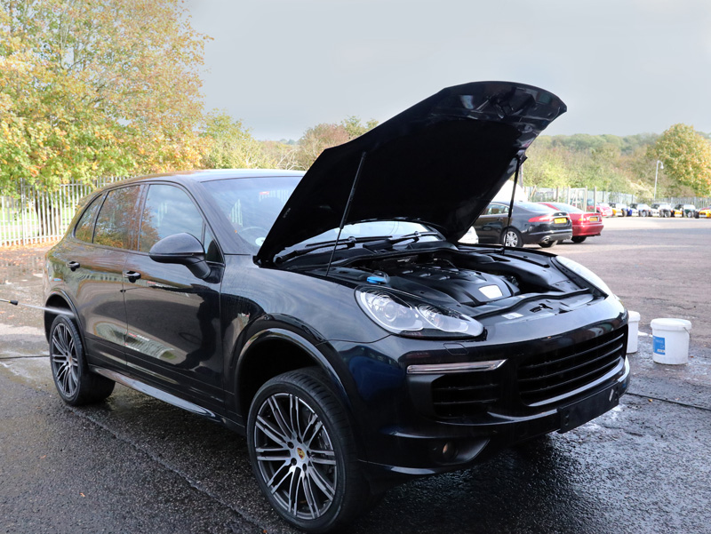2016 Porsche Cayenne - Gloss Enhancement Treatment