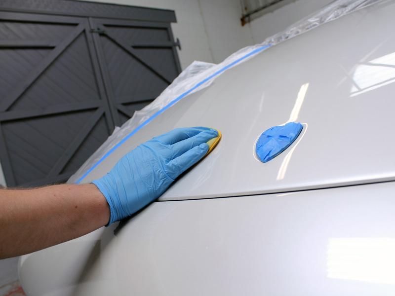 Lamborghini LP640 - 3M Paint Defender Spray Film Test