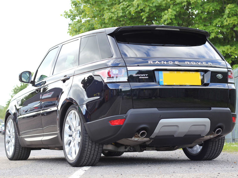 Range Rover Sport V6 - New Car Protection with Crystal Serum