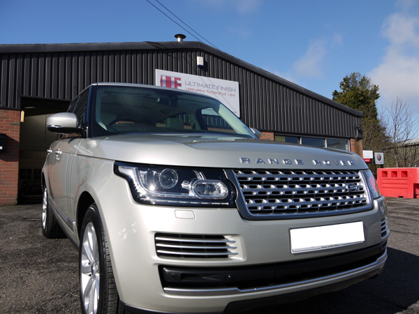 Ultimate Detailing Studio New Car Protection For New Range Rover TDV6 VOGUE SE.