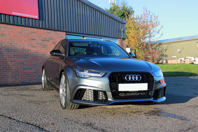 Audi RS 6 Quattro Avant - New Car Protection Treatment