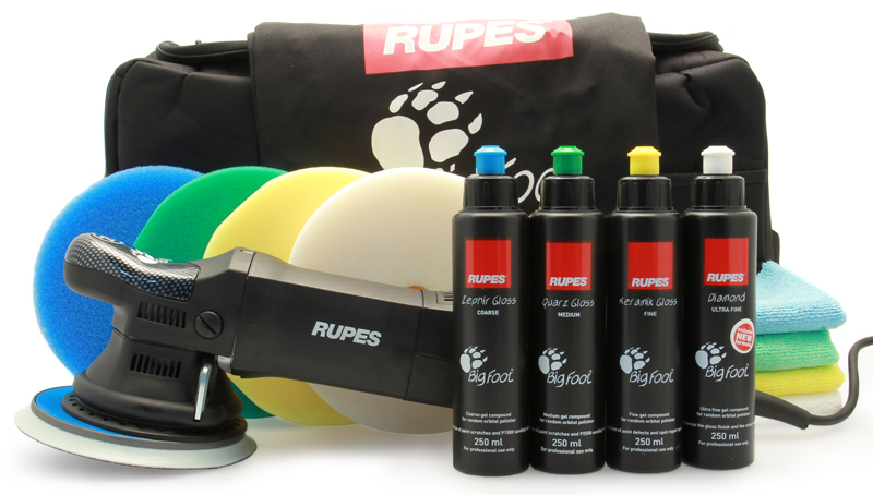 RUPES BigFoot UK Training Day