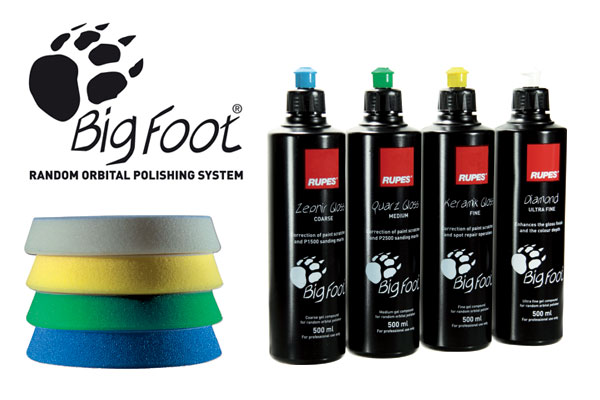 RUPES BigFoot Gel Compounds & Foam Pads