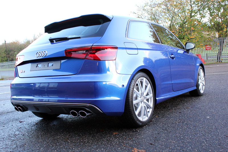 Audi S3 Receives New Car Protection With GYEON Q2 MOHS+