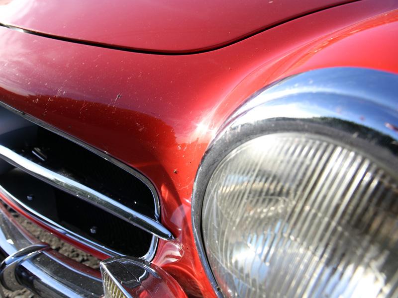 1960 Mercedes-Benz 190 SL - Gloss Enhancement Treatment